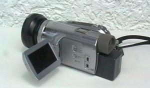 minidv kamera panasonic nv-gs500 mit weitwinkel